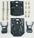 "Chevy/GMC Leaf Spring Hanger/Shackle Kit, Rear of Rear Suspension (BOTH SIDES) Fits 2-1/2"" Wide Leaf Spring**FREE SHIPPING**"
